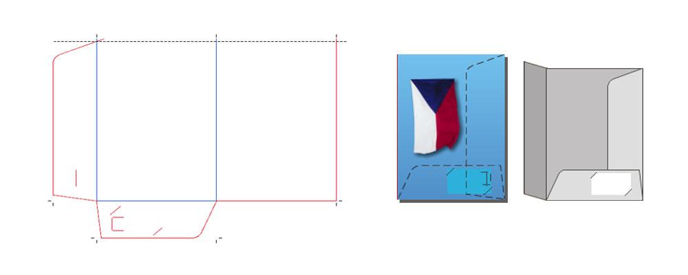 Sloha vzor 043 pro formát A4 a letter