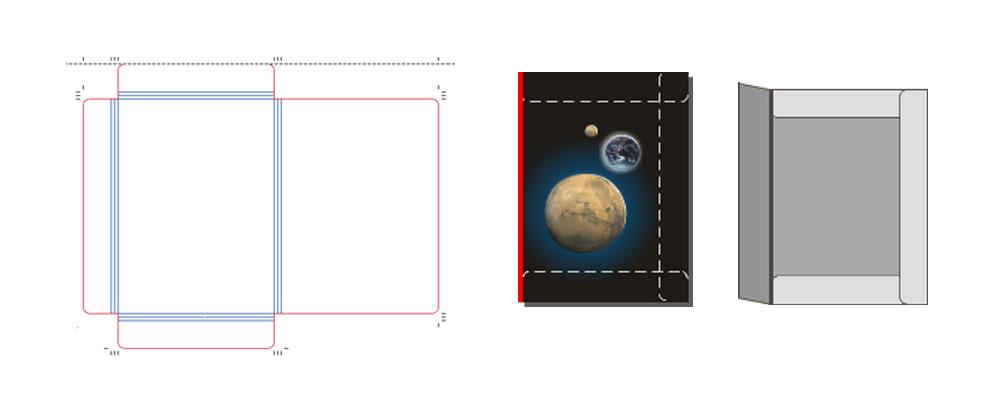 Sloha vzor 050 pro formát A4 a letter