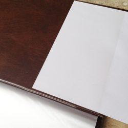 Otevřená kapsa pro vkládání dokumentů